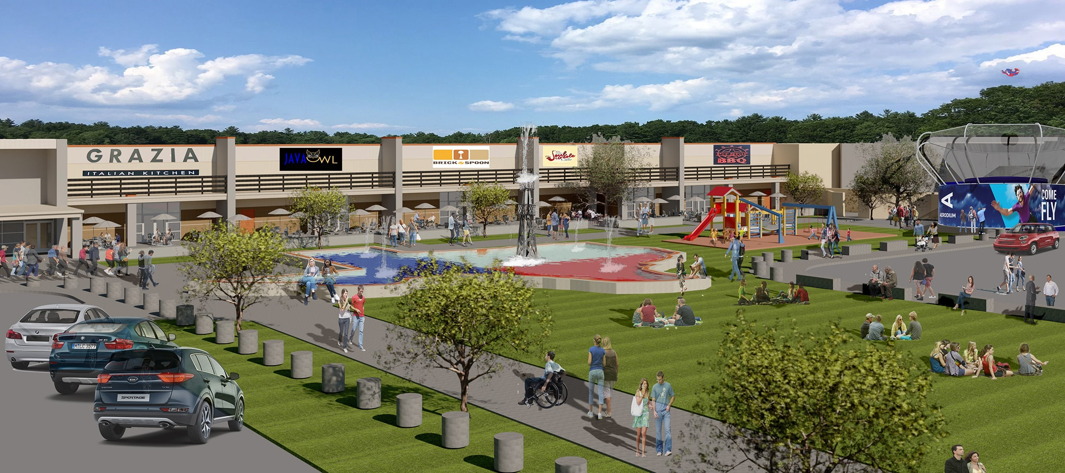 mainland city centre festival grounds rendering final
