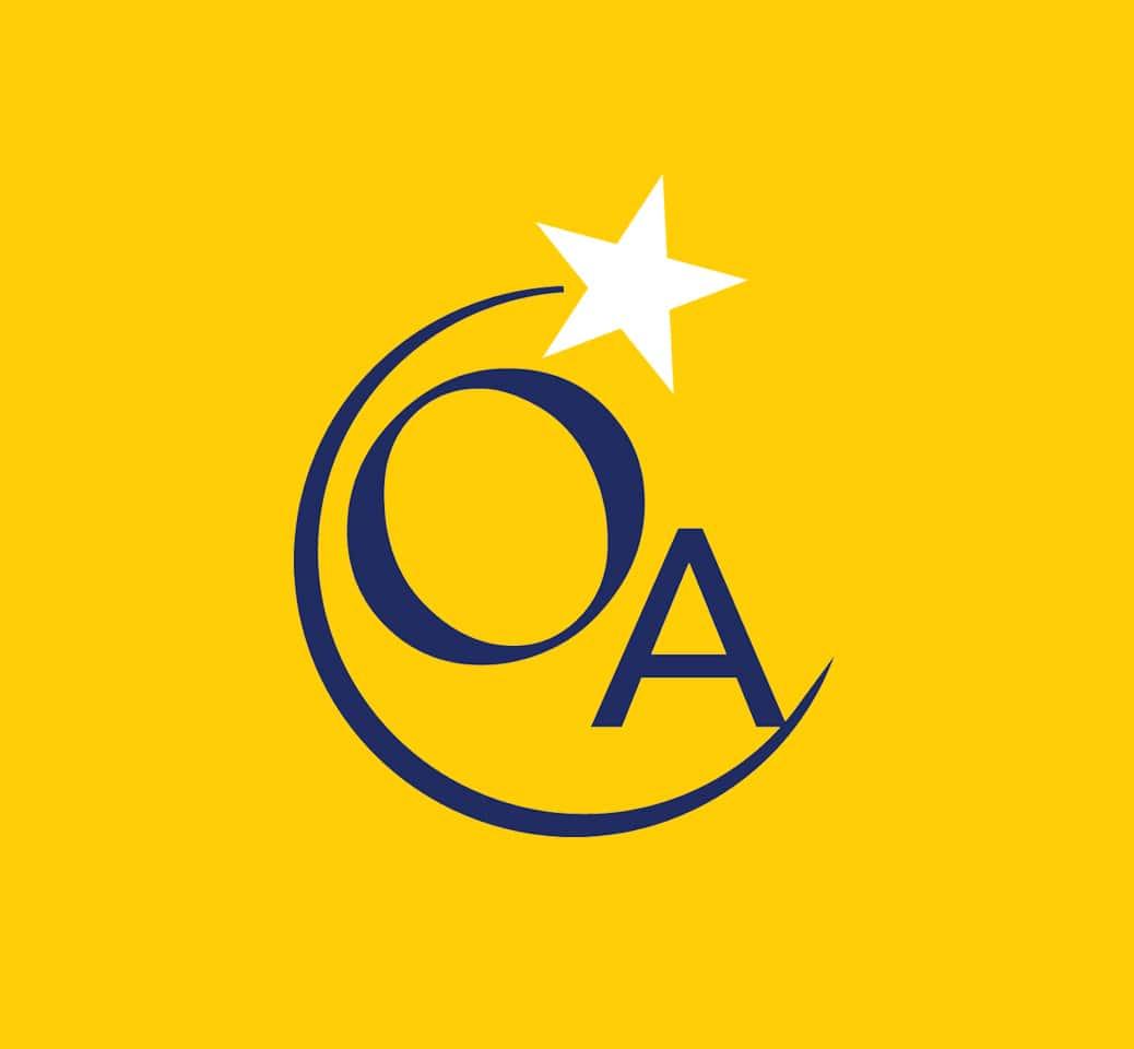 odyssey academy logo yellow