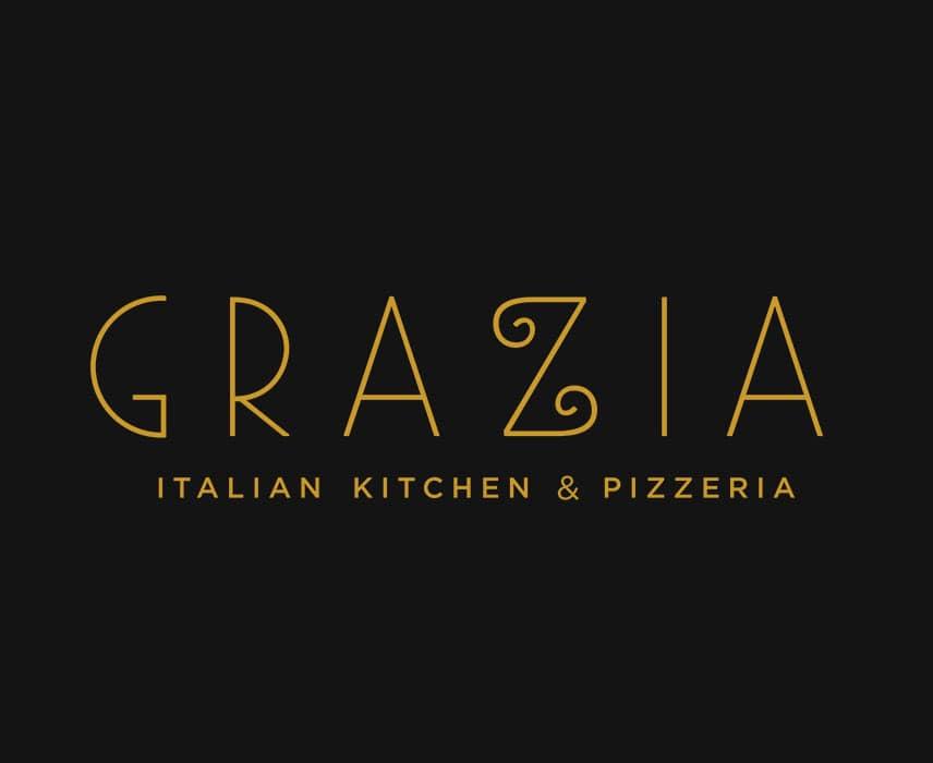 grazia italian kitchen and pizzeria logo